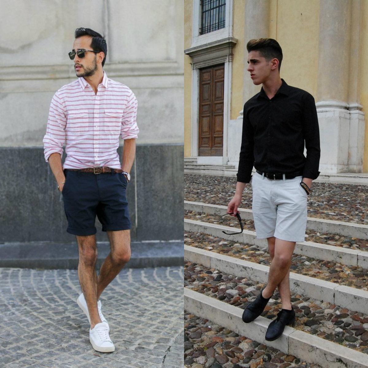 Мужские шорты 2019: классические модели