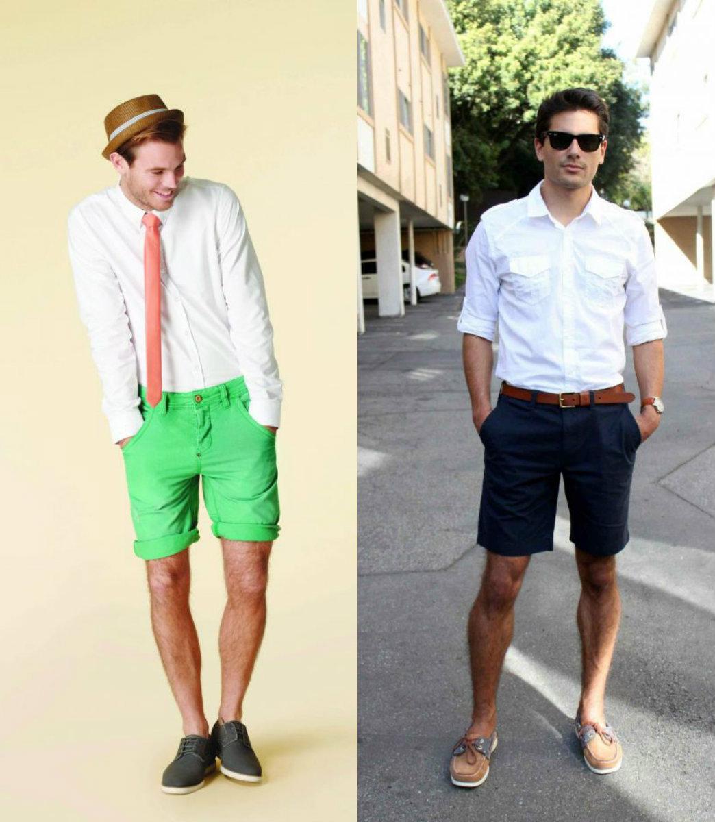 Мужские шорты 2019: городские варианты