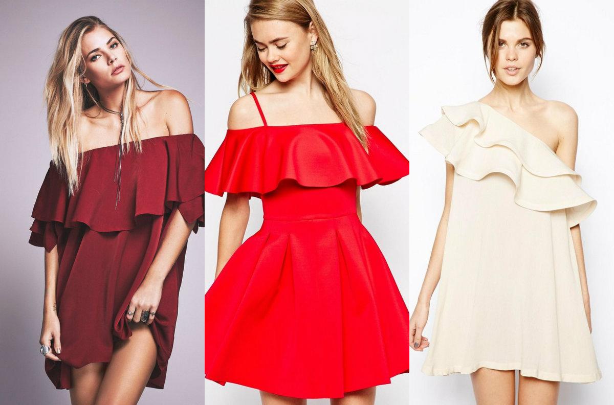 Модные платья 2018: асиметрия