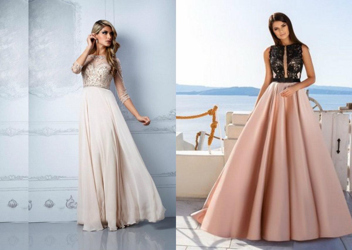 Модные платья 2018: вечерние платья