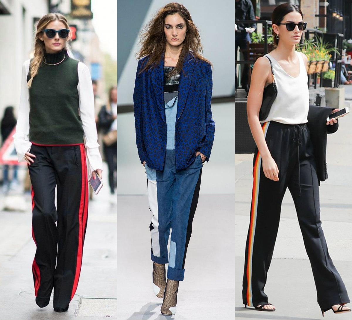 Брюки женские 2019: уличная мода