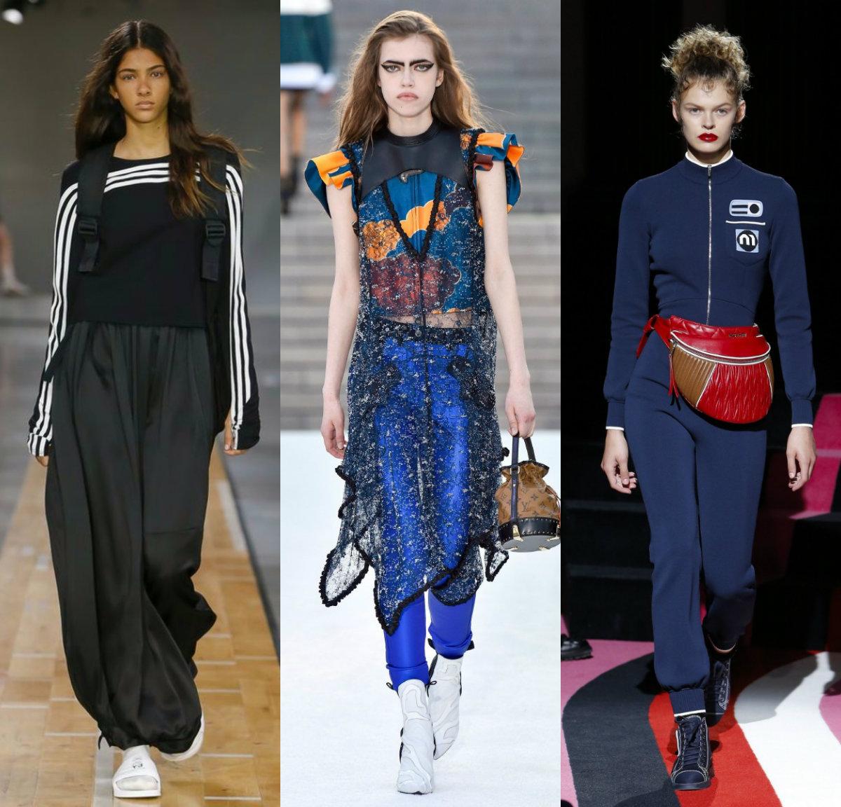 женская мода 2018 : спортивные костюмы