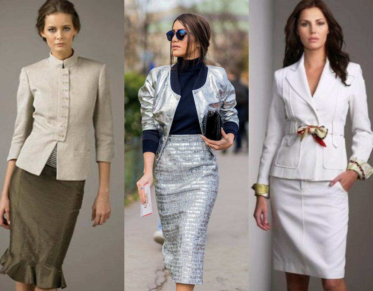 Женские костюмы 2018 : элегантность и шик
