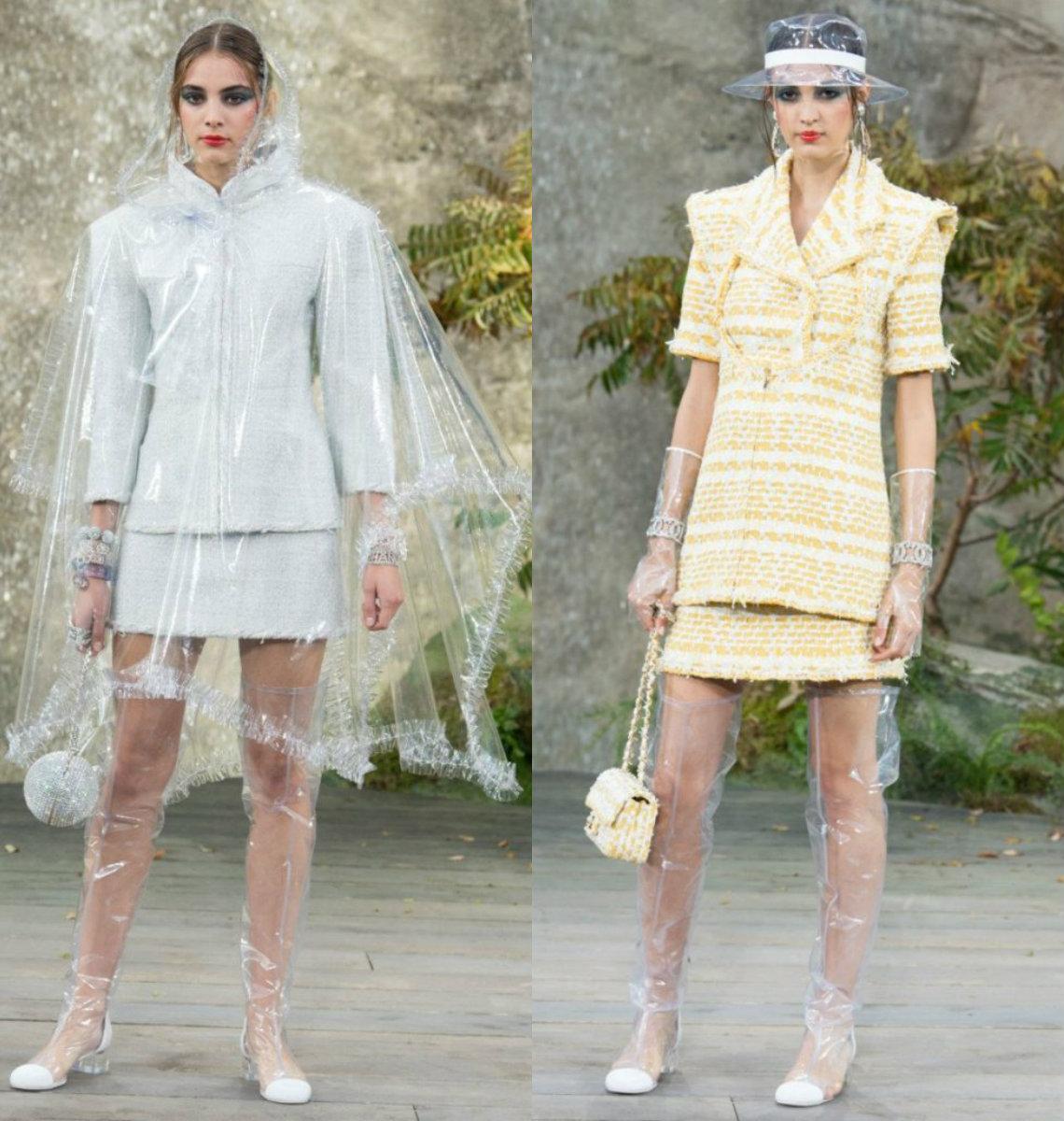 Женские костюмы 2018 : авангардные модели