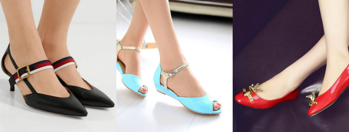 модные женские туфли 2019 : обувь на низком каблуке