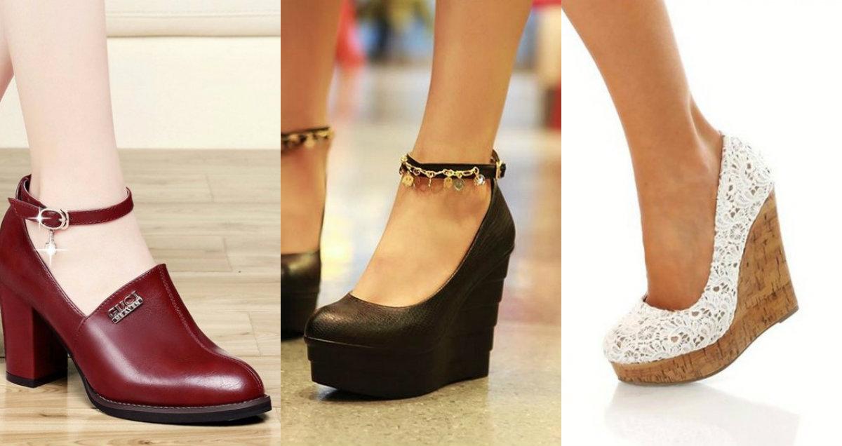 модные женские туфли 2019 : модели на платформе