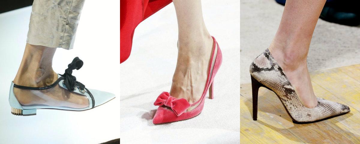 модные женские туфли 2019 : обувь с острым носком