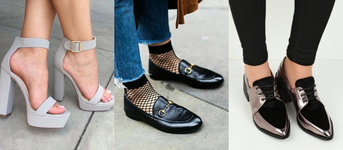 модные женские туфли 2019 : модели разных типов