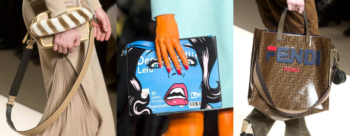 Модные сумки 2018 : сумки с принтом