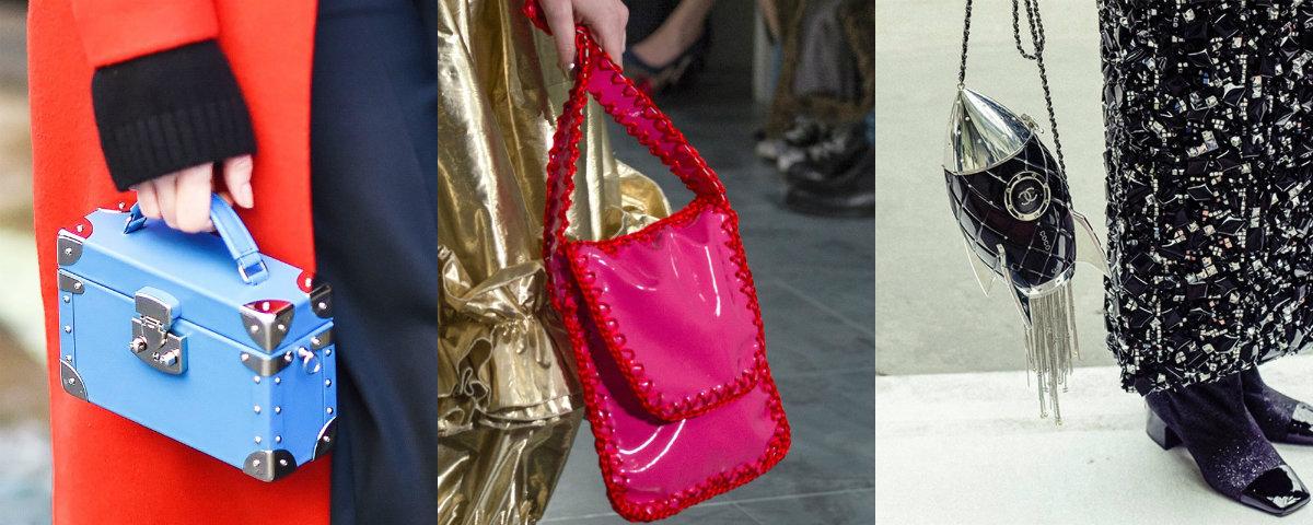 Модные сумки 2018 : яркие модели