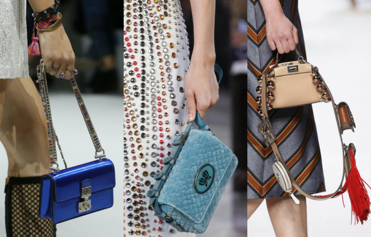 Модные сумки 2019 : миниатюрные модели