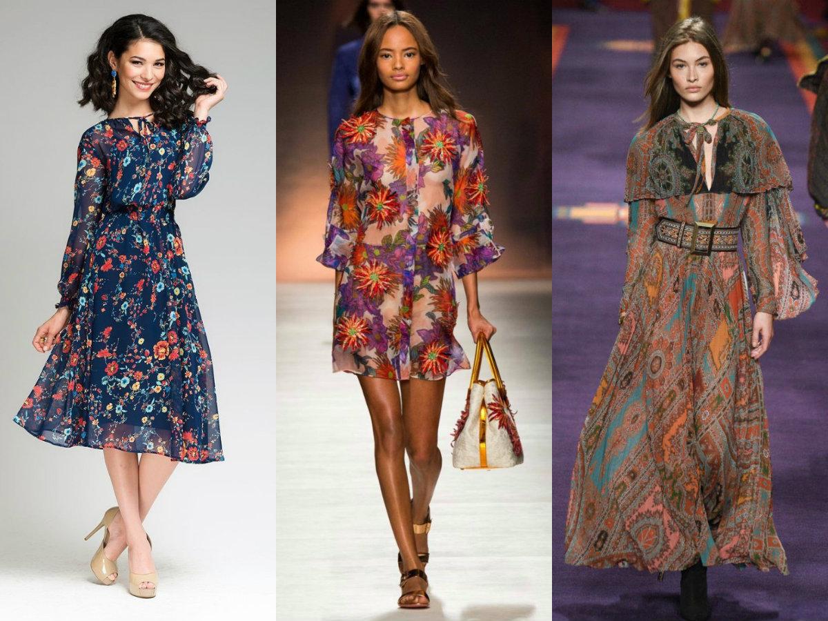 модные тенденции платьев 2018: шифоновые наряды