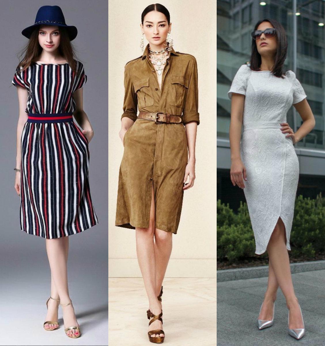 модные тенденции платьев 2018: разнообразие моделей
