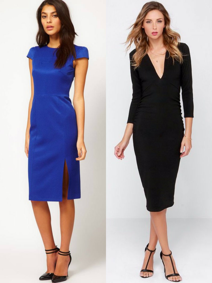 модные тенденции платьев 2018: элегантные модел