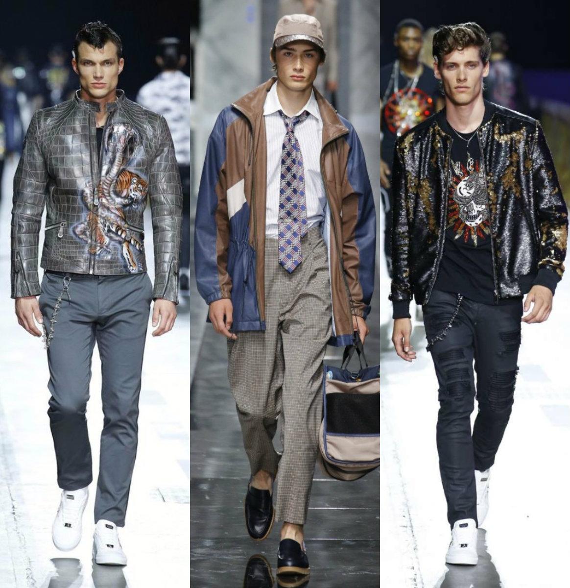Мужская мода 2019: кожаные куртки