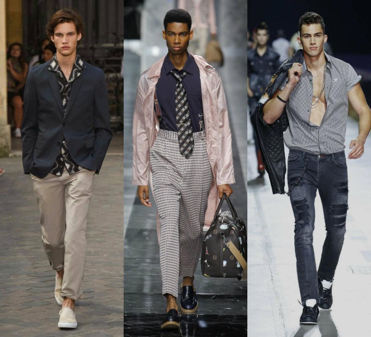 Мужская мода 2019 жная мода