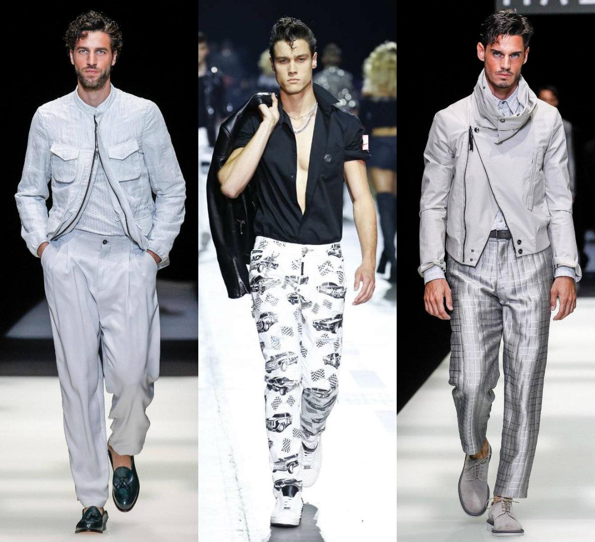 Мужская мода 2019 : весенние куртки