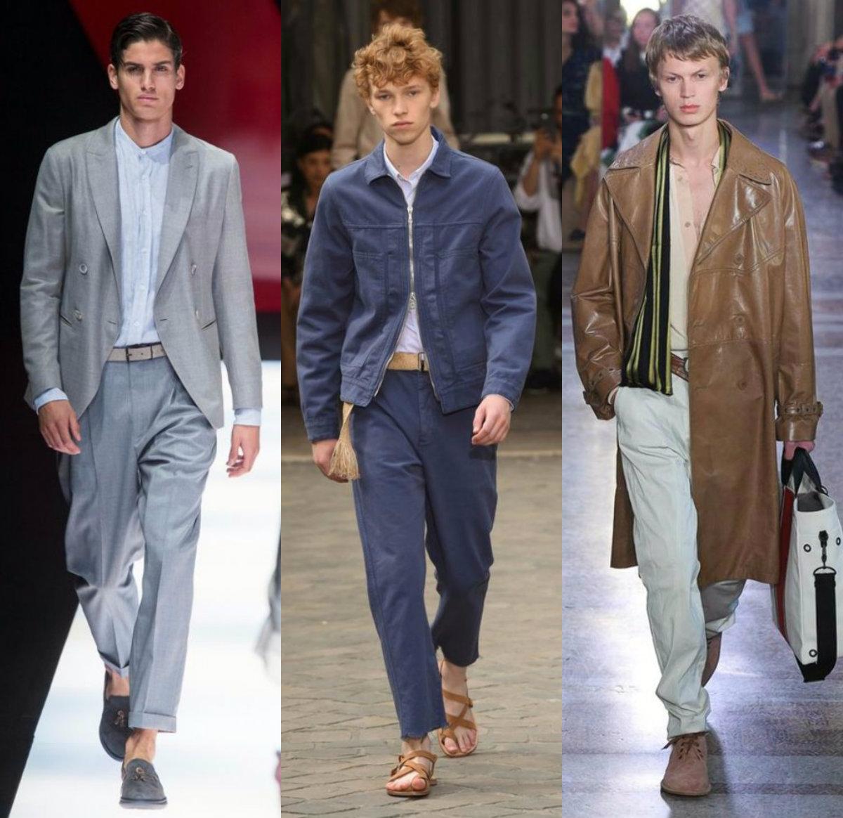 Мужская мода 2019 : весеняя мода