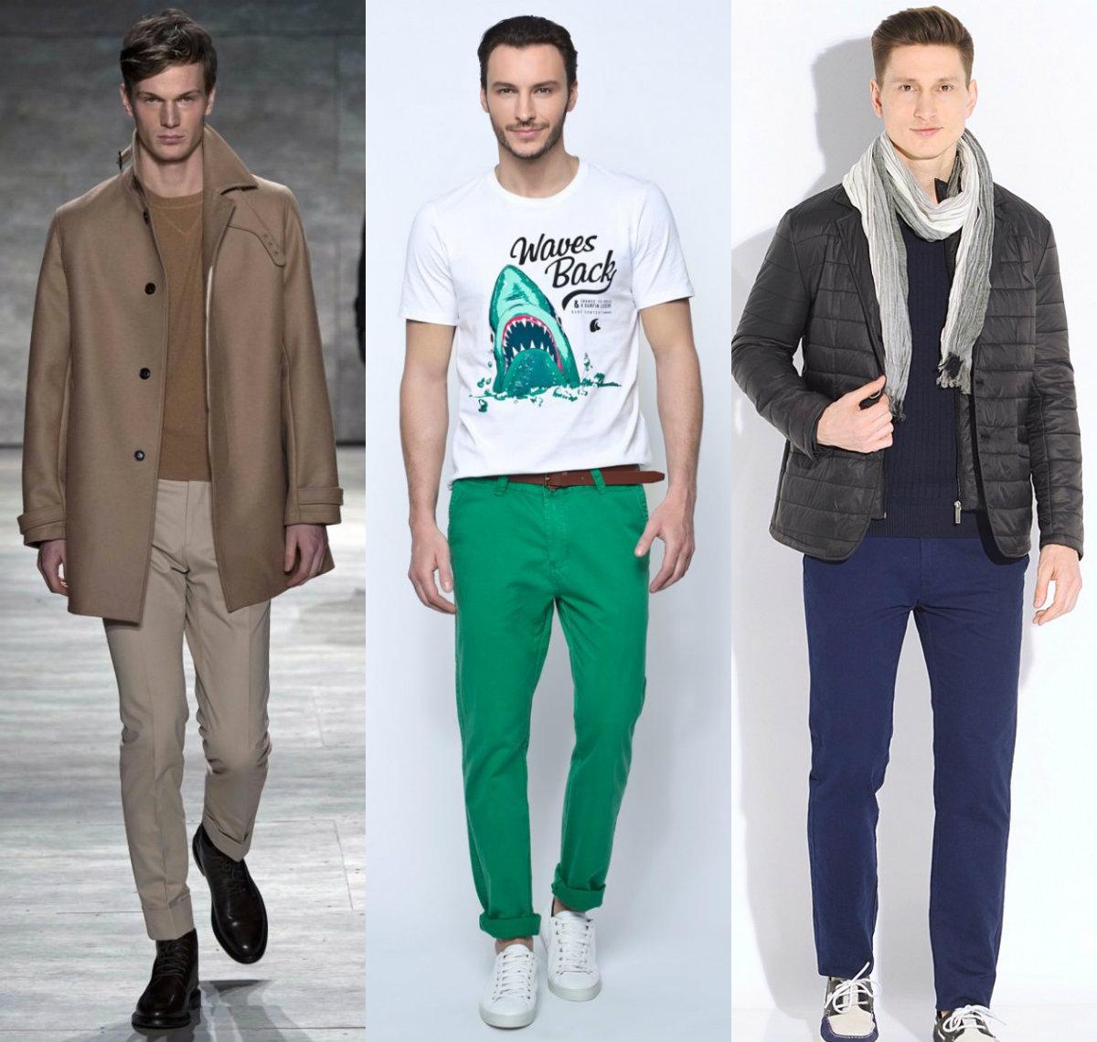 Мужская мода 2019 : модели для молодых