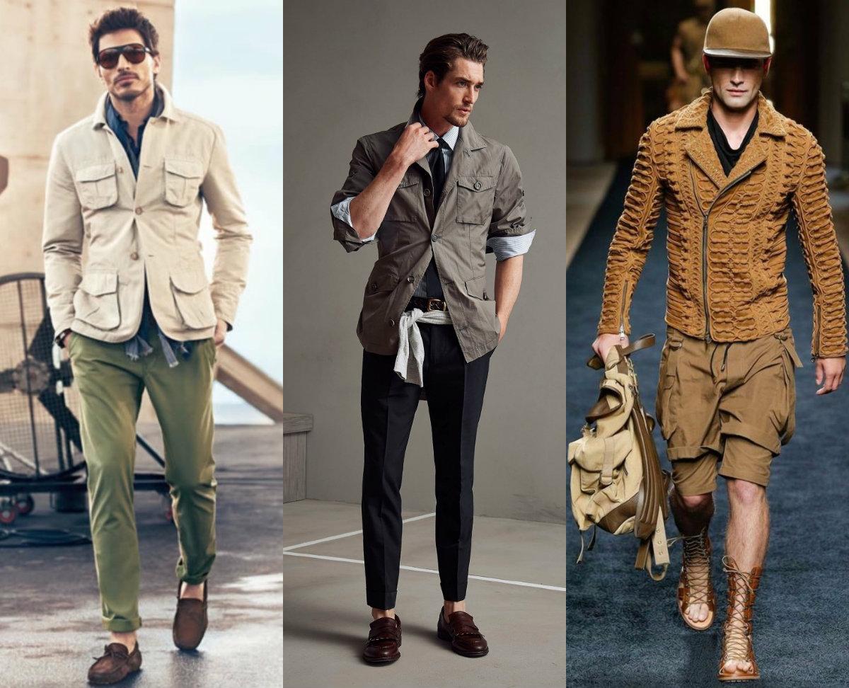 Мужская мода 2019 : модели сафари