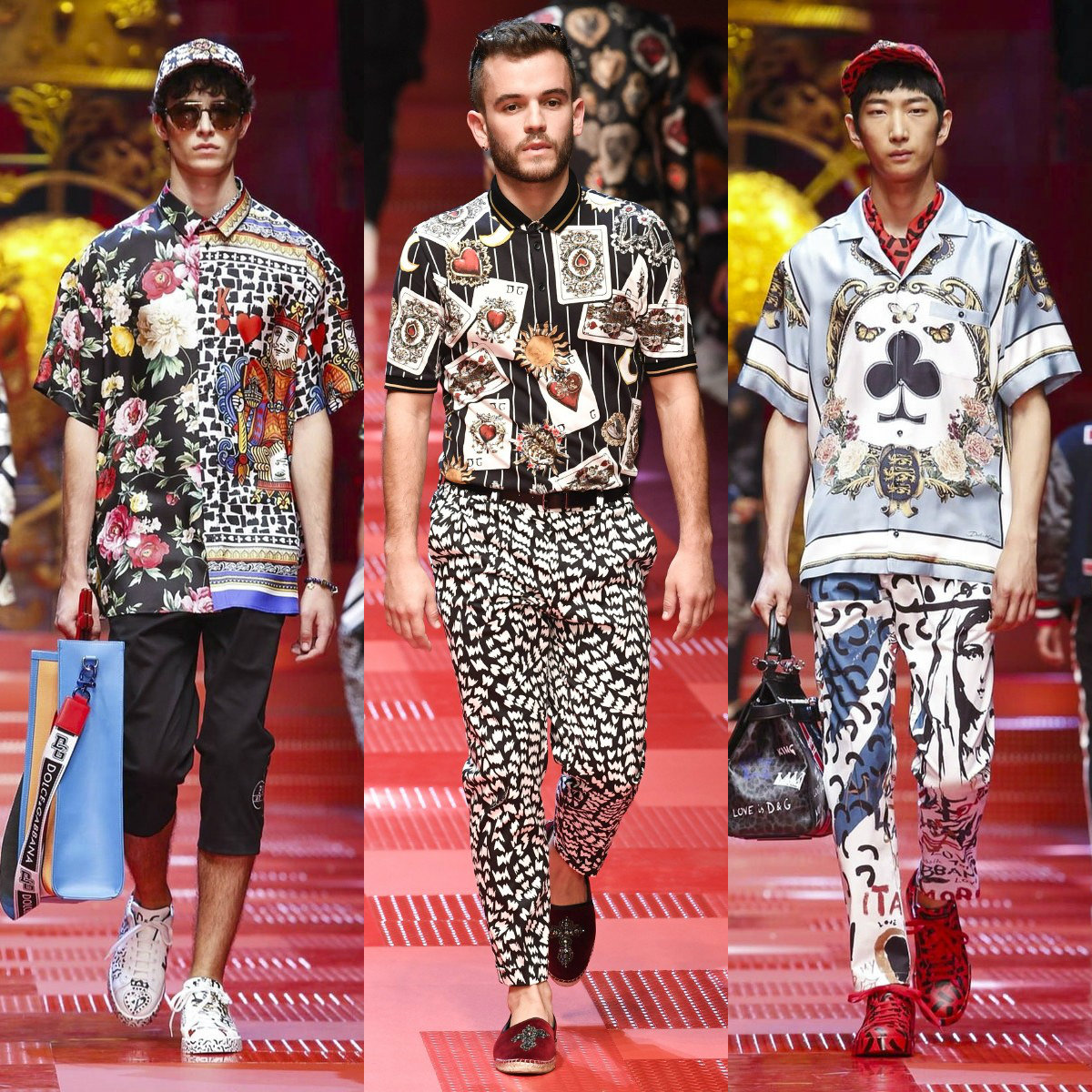 Мужская мода 2019 : рубашки с принтами
