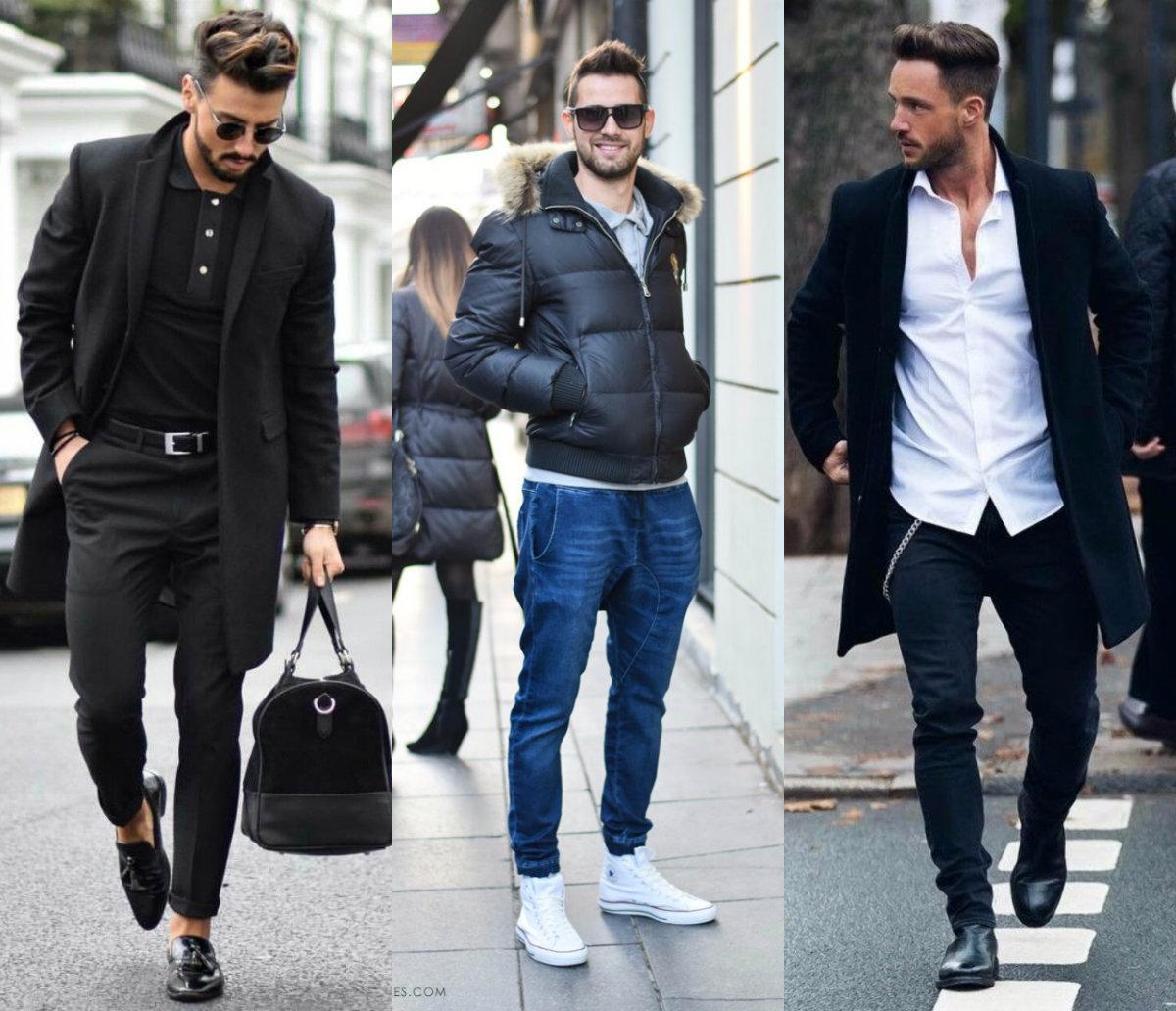 Мужская мода 2019 : луки на холодное время года