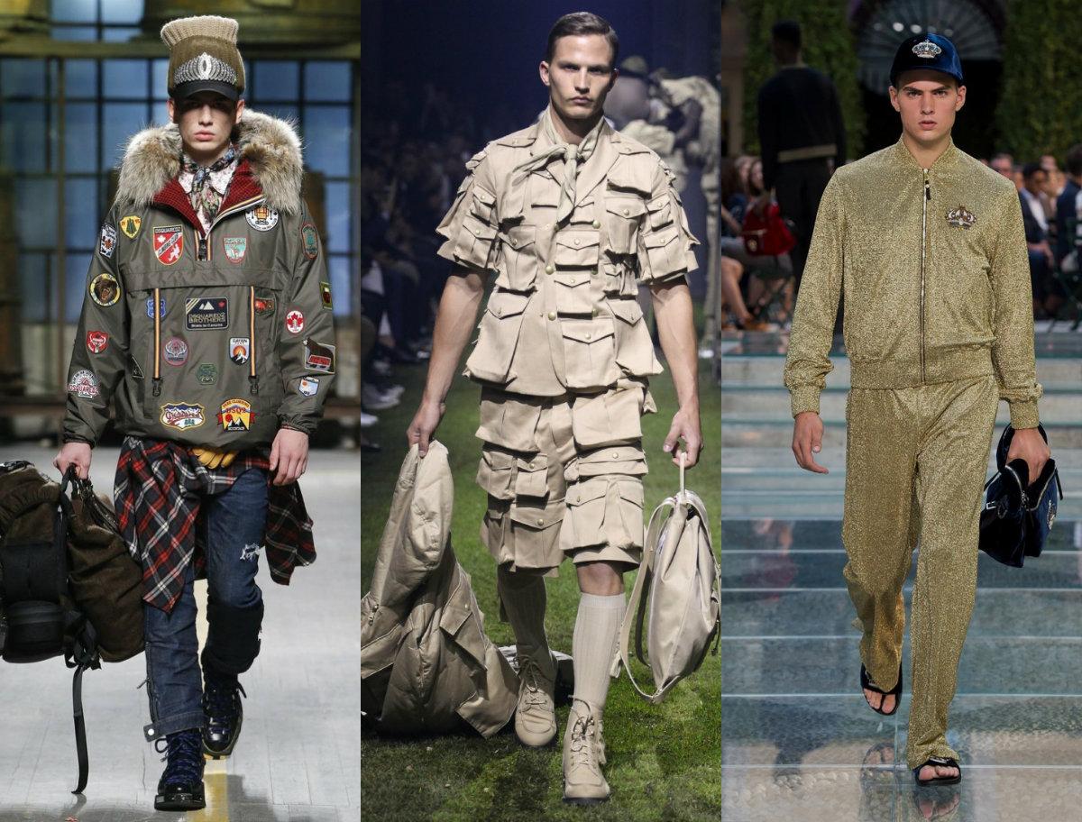 Мужская мода 2019 : стиль милитари