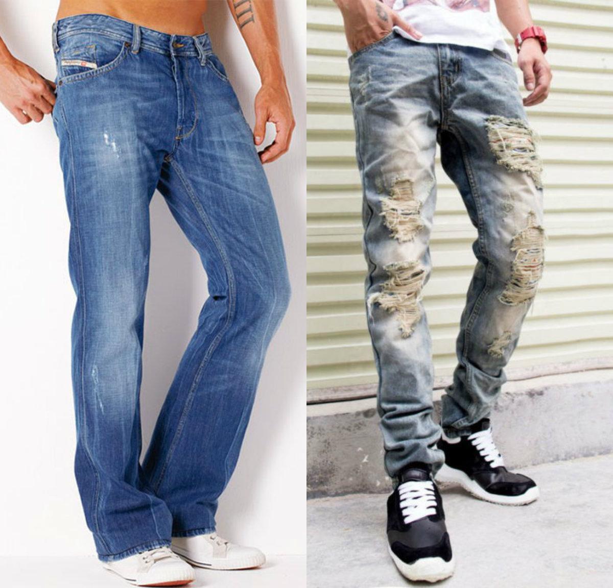 Мужские джинсы 2019: варианты для молодых мужчин