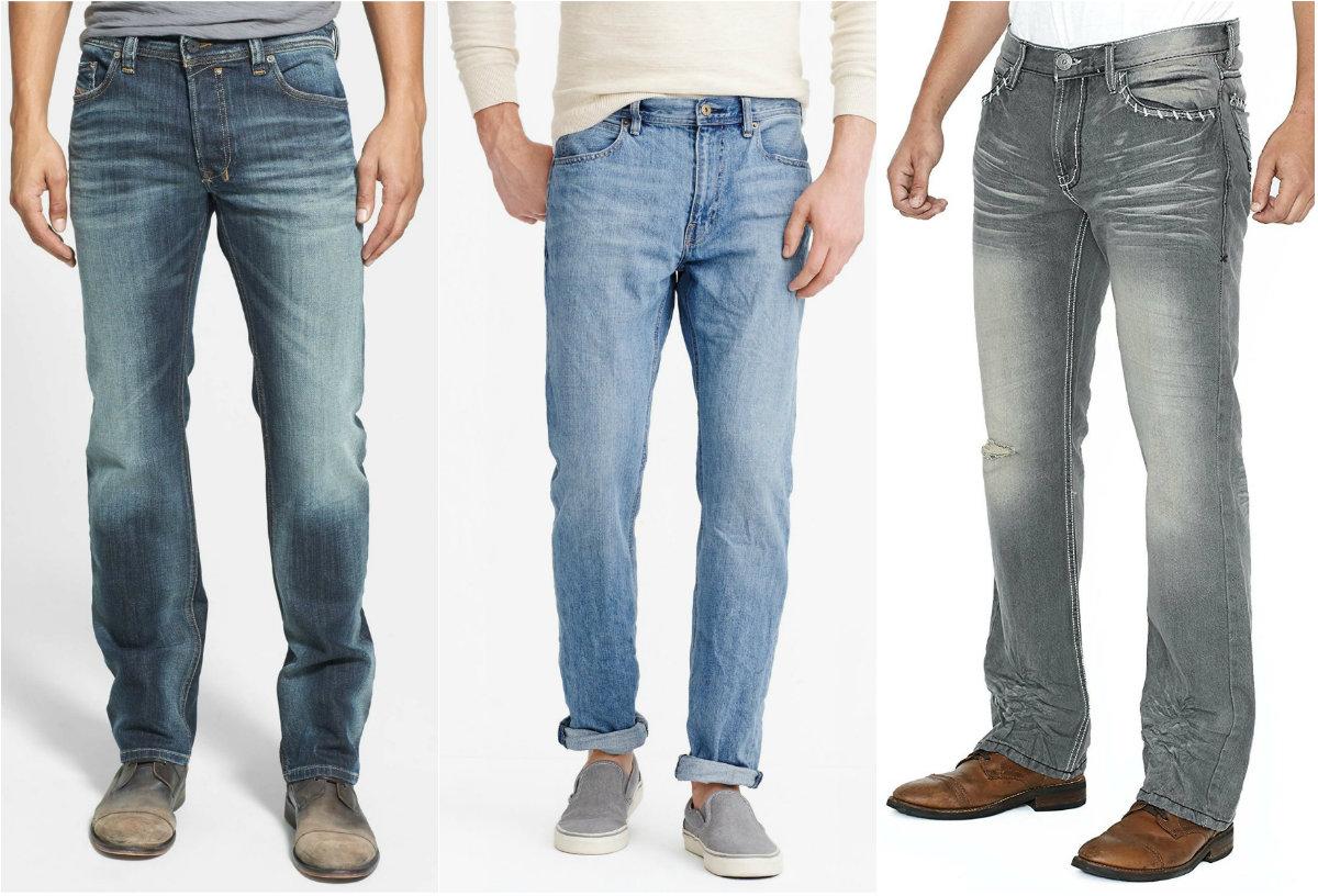 Мужские джинсы 2019: сдержанные варианты
