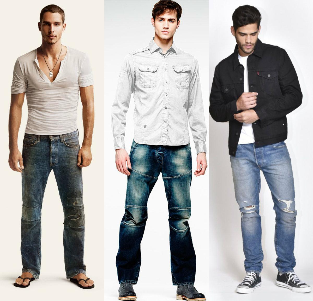 Мужские джинсы 2019: неформальные варианты