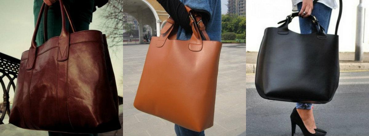 Сумки женские 2018: большие сумки