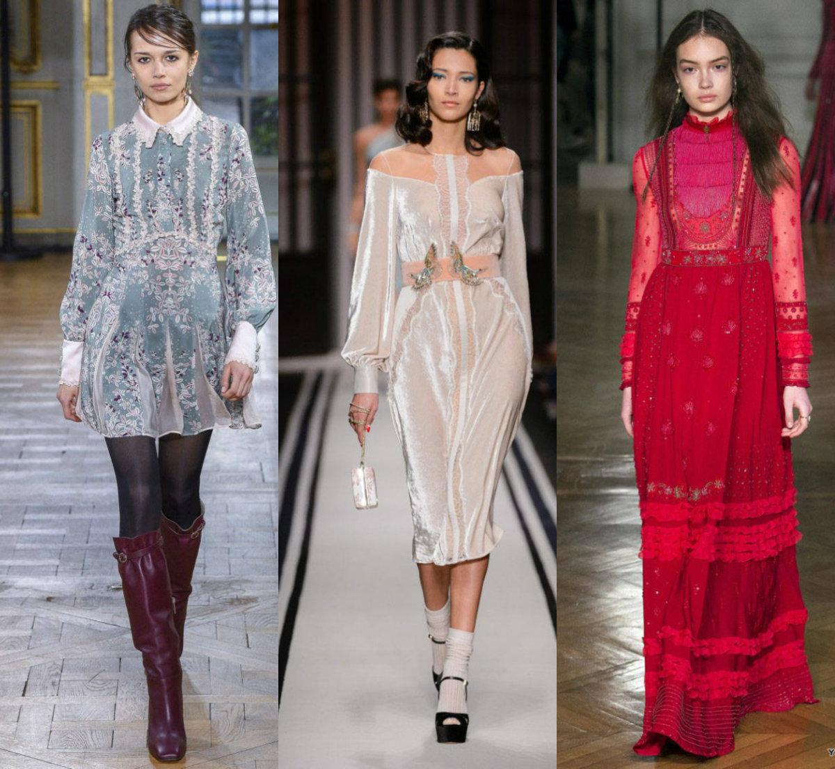 Фасоны платьев 2018: оригинальные модели