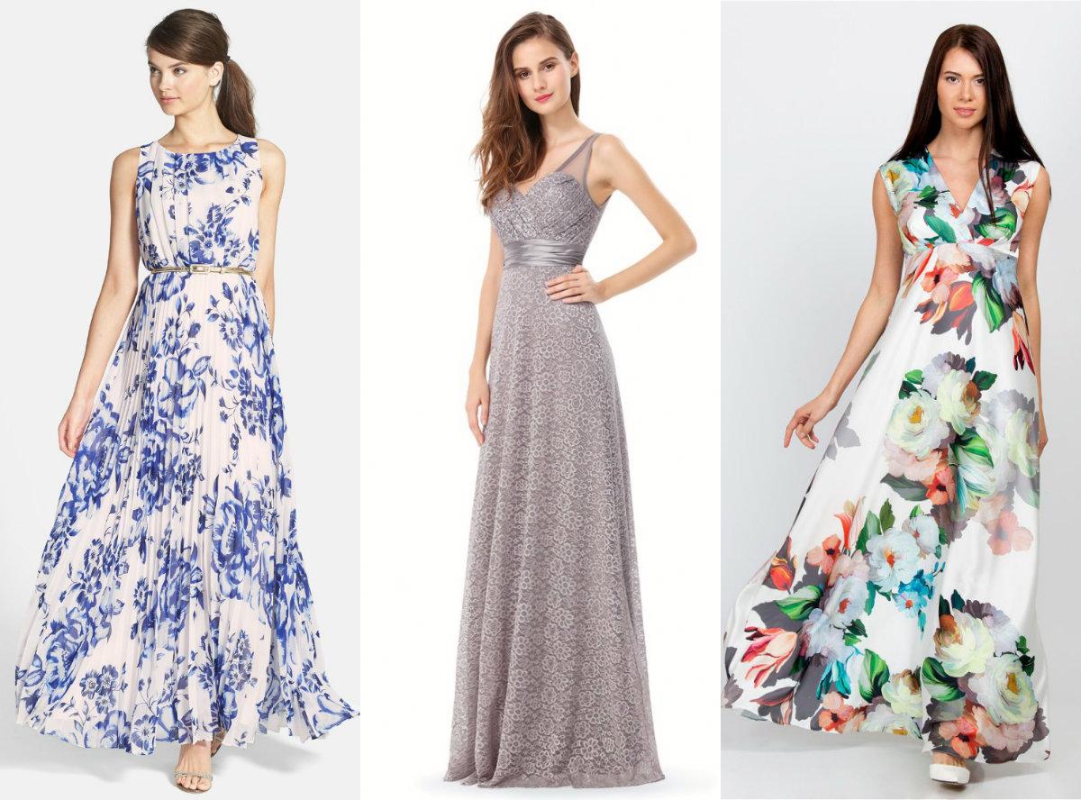 Фасоны платьев 2018: модели с завышенной талией