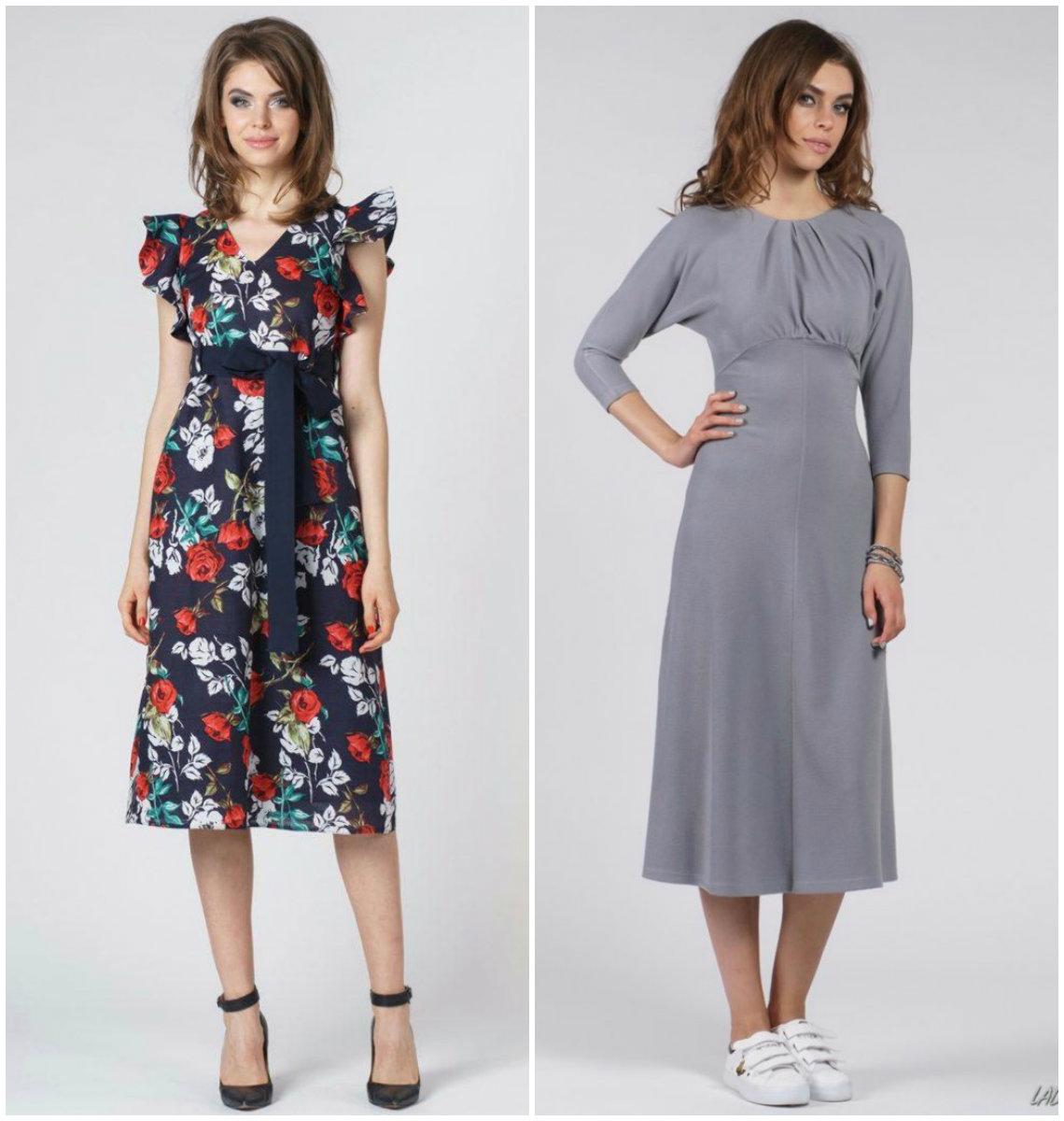 Фасоны платьев 2019: модели на каждый день