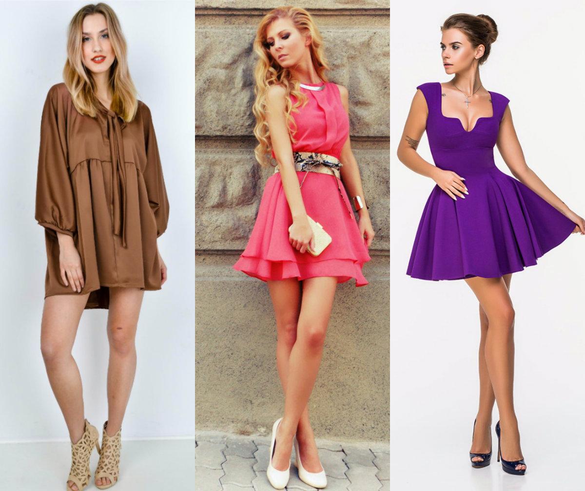 Фасоны платьев 2018: бэби долл