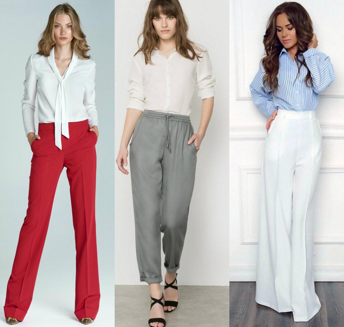 брюки женские 2019: модели для офиса
