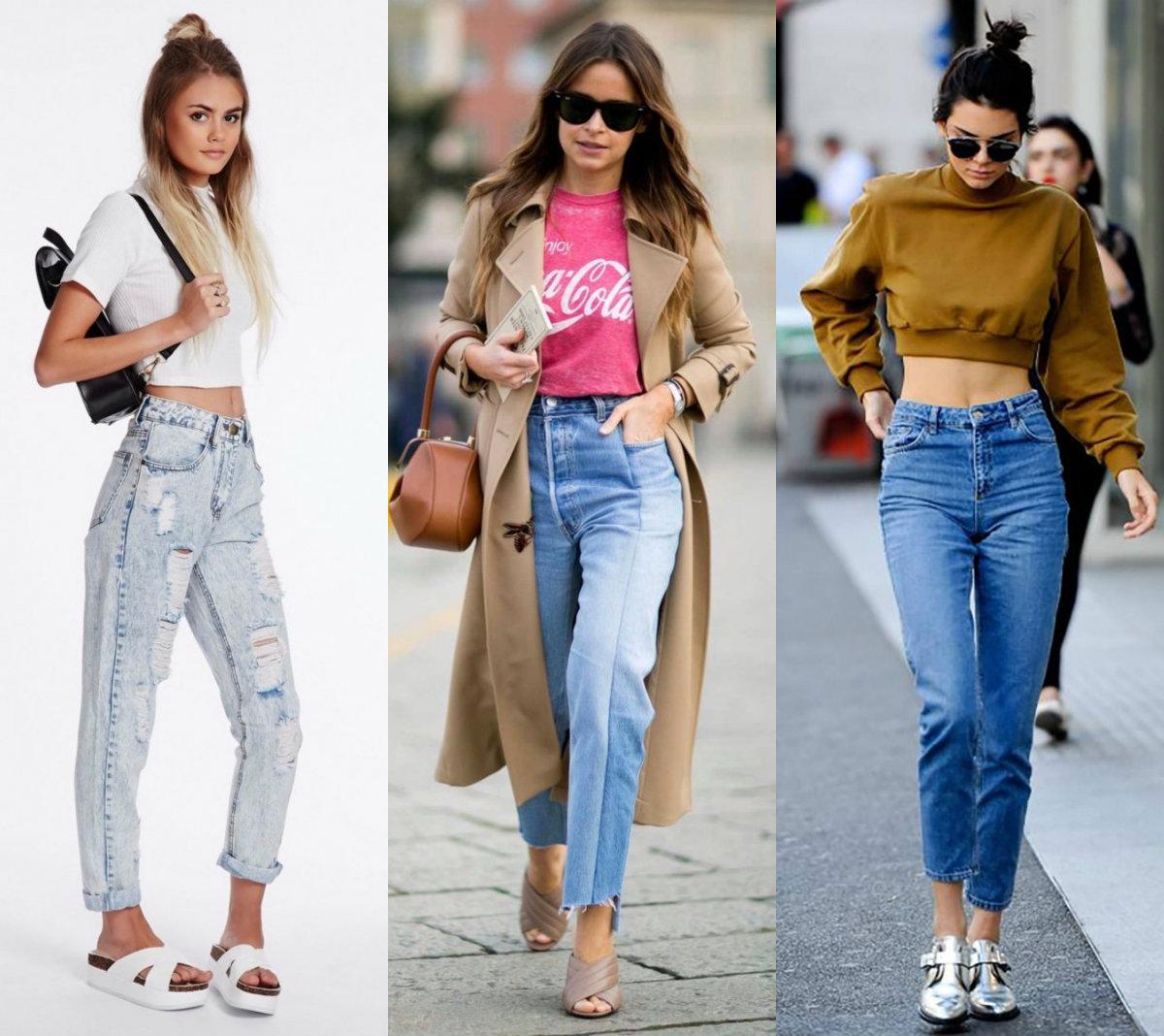 брюки женские 2019: джинсы