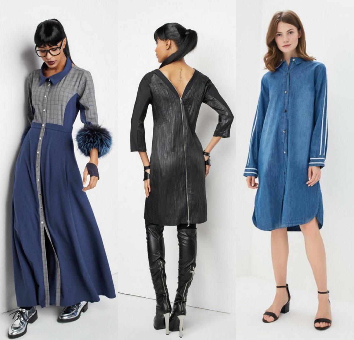 Джинсовые платья 2018: спортивные модели