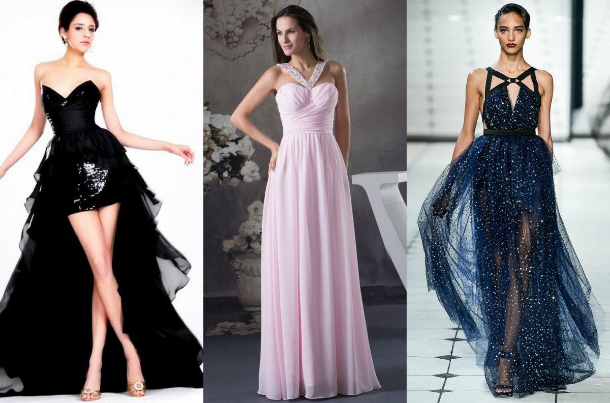 женская мода 2018 : платья для особых случаев