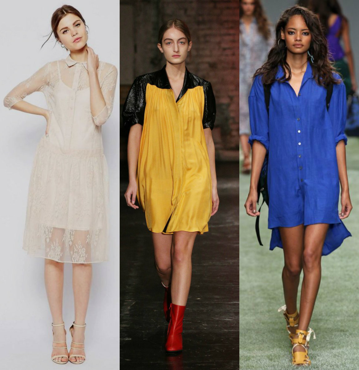 женская мода 2018 : яркие платья