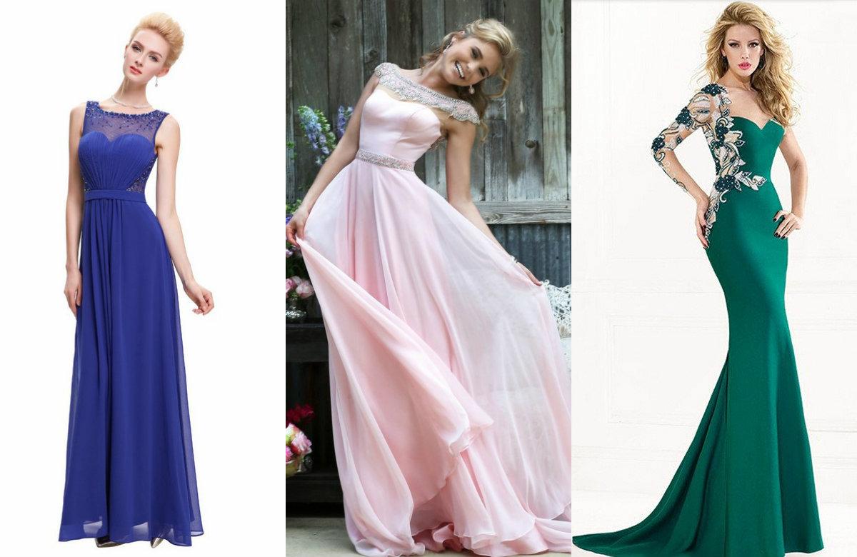 женская мода 2018: красивые вечерние наряды