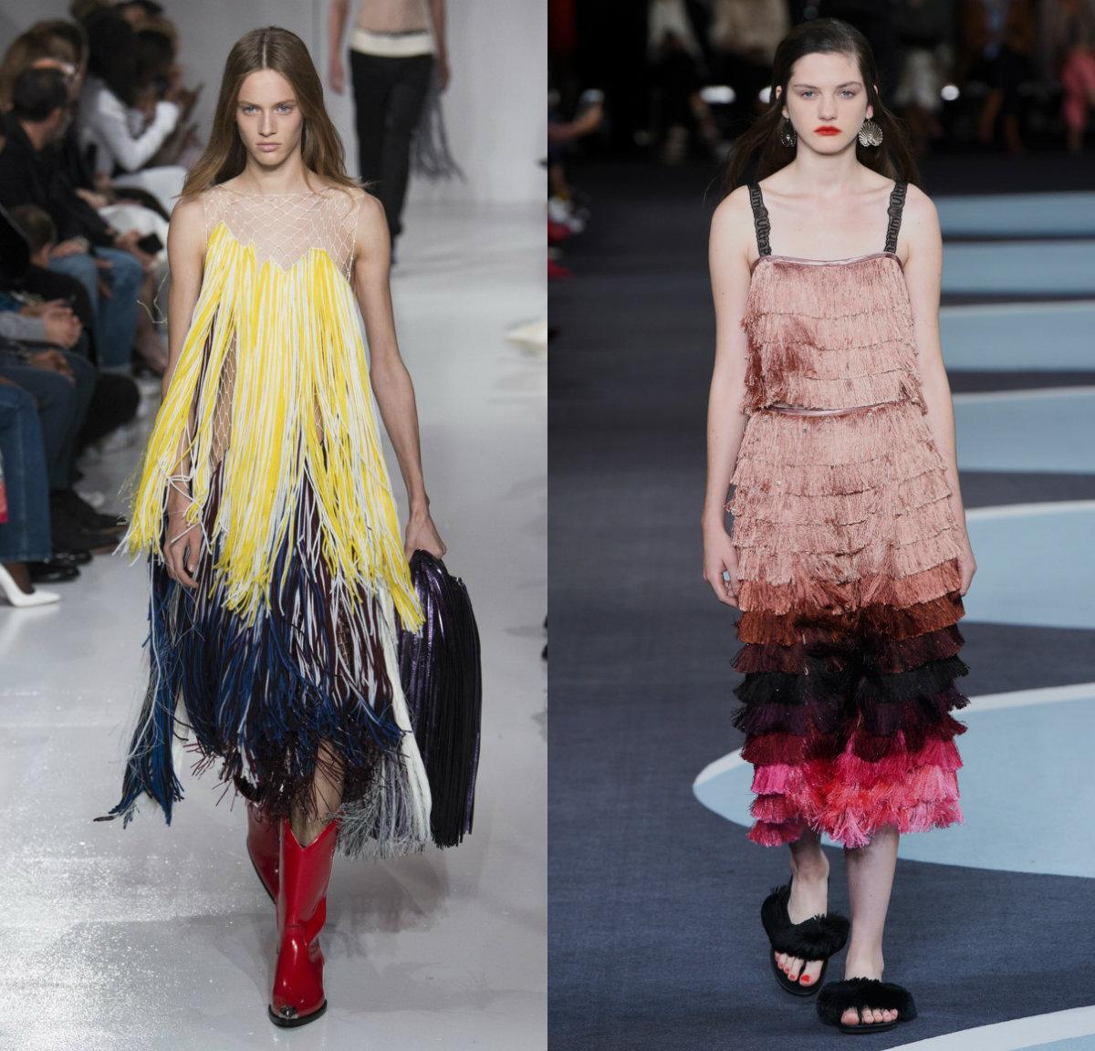 женская мода 2018: авангардные модели