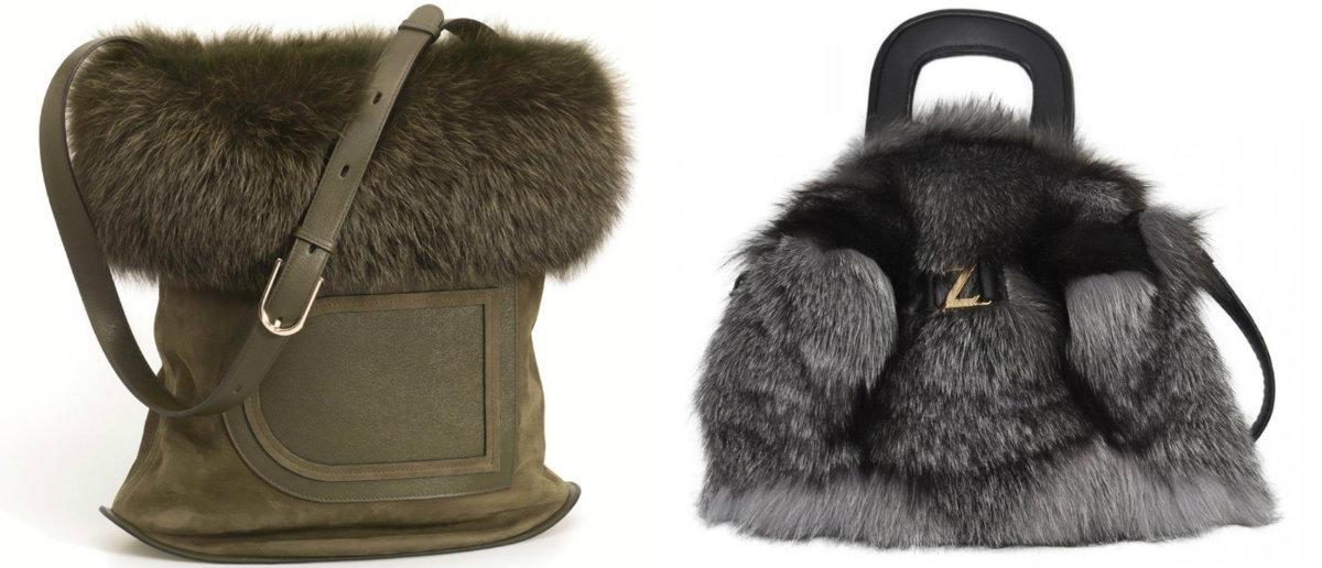 Модные сумки 2018 : зимние сумки