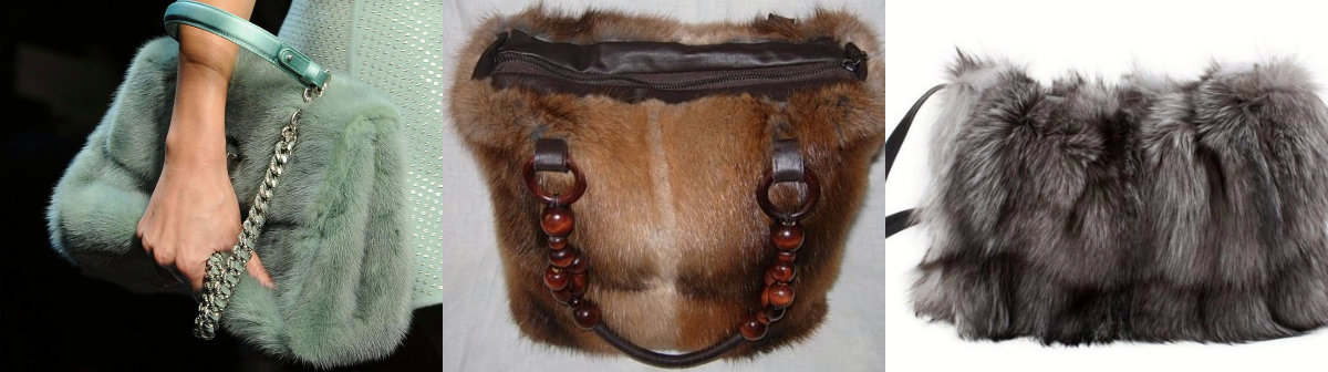 Модные сумки 2018 : меховые модели