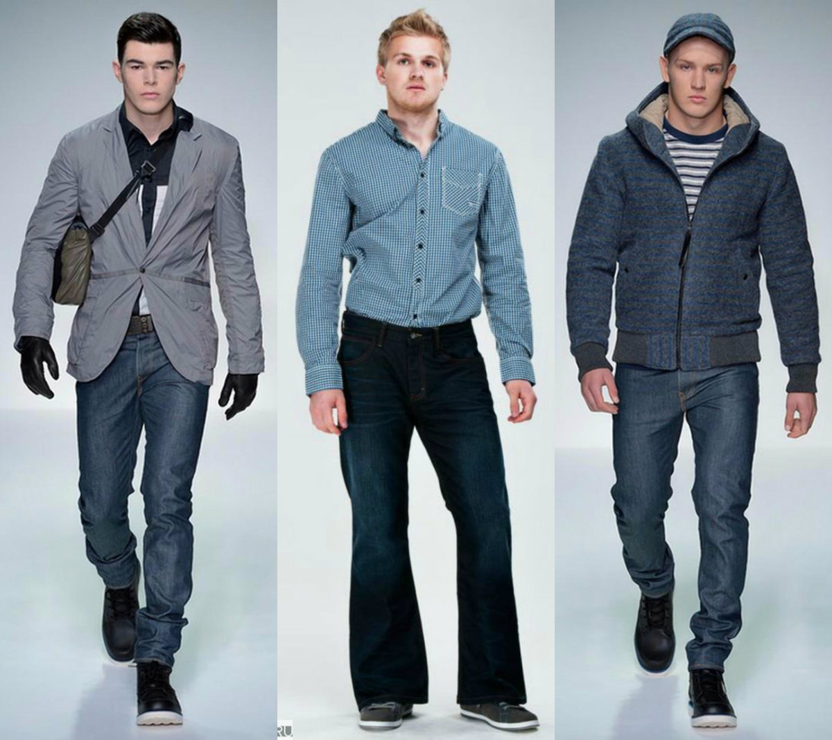 Мужские джинсы 2018: самые комфортные варианты