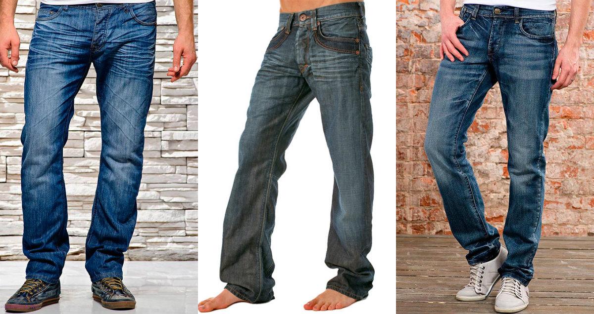 Мужские джинсы 2019: широкие модели
