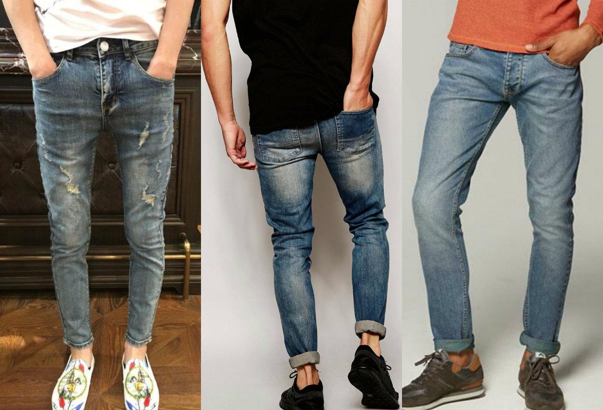 Мужские джинсы 2018: модели с отворотами