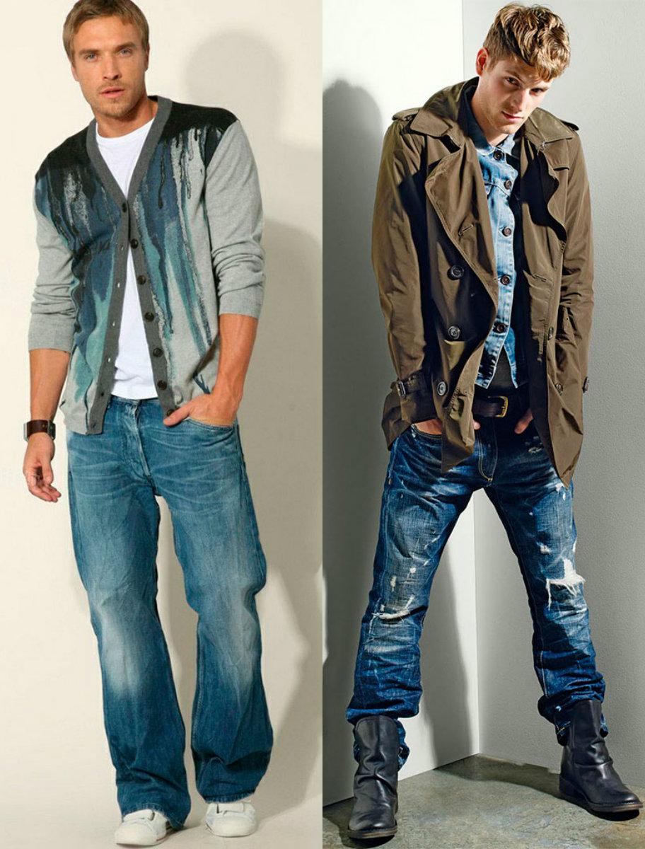 Мужские джинсы 2018: самые актуальные модели