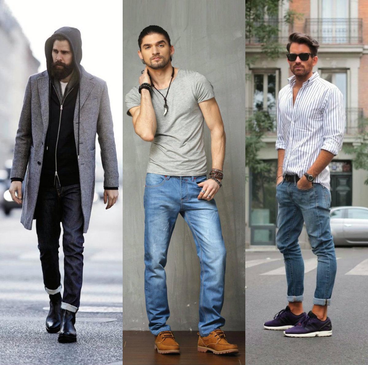 Мужские джинсы 2018: уличная мода