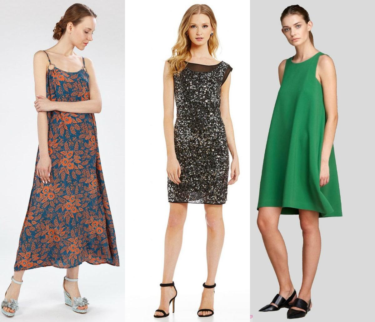 Фасоны платьев 2019: платья на каждый день